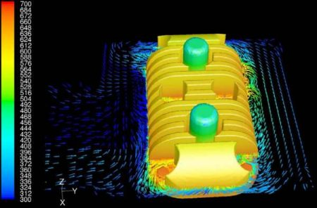 fsi-simulation ergebnisse temperatur