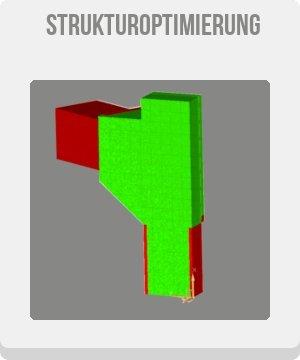 strukturoptimierung topologieoptimierung button