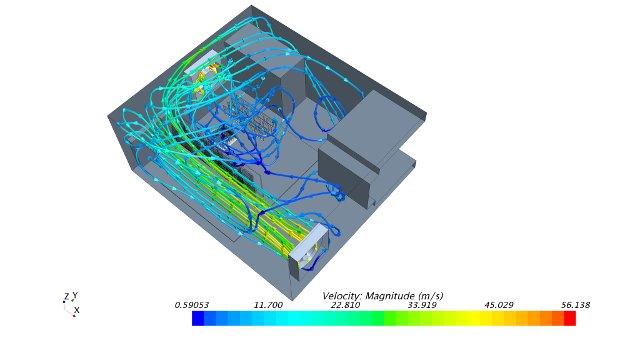 cfd-berechnung,cfd-simulation,numerische strömungssimulation,cfd-analyse elektronik